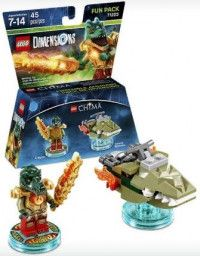LEGO Dimensions Fun Pack Lego Legend of Chima (Cragger, Swamp Skimmer) Фигурки Lego Dimensions