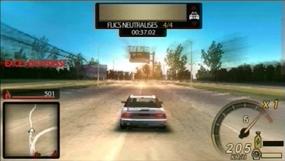 Need for Speed: Undercover Platinum Русская Версия (PSP)