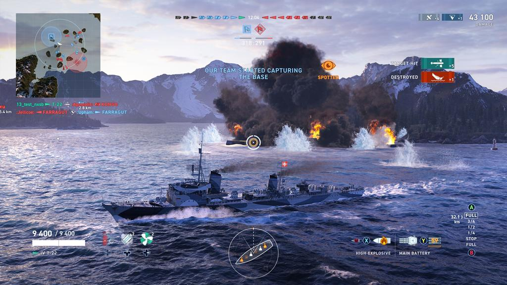 World of Warships: Legends - Firepower Deluxe Edition Русская Версия (Xbox One)