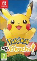 Купить игру Pokemon: Let's Go, Pikachu! (Switch) диск