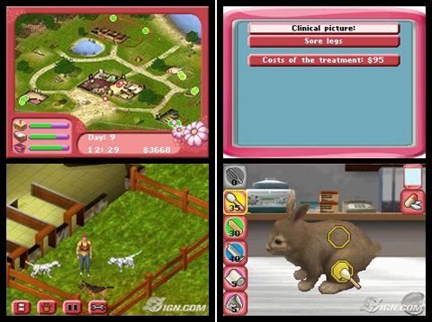 Игра Paws and Claws Pet Resort (DS) для Nintendo DS
