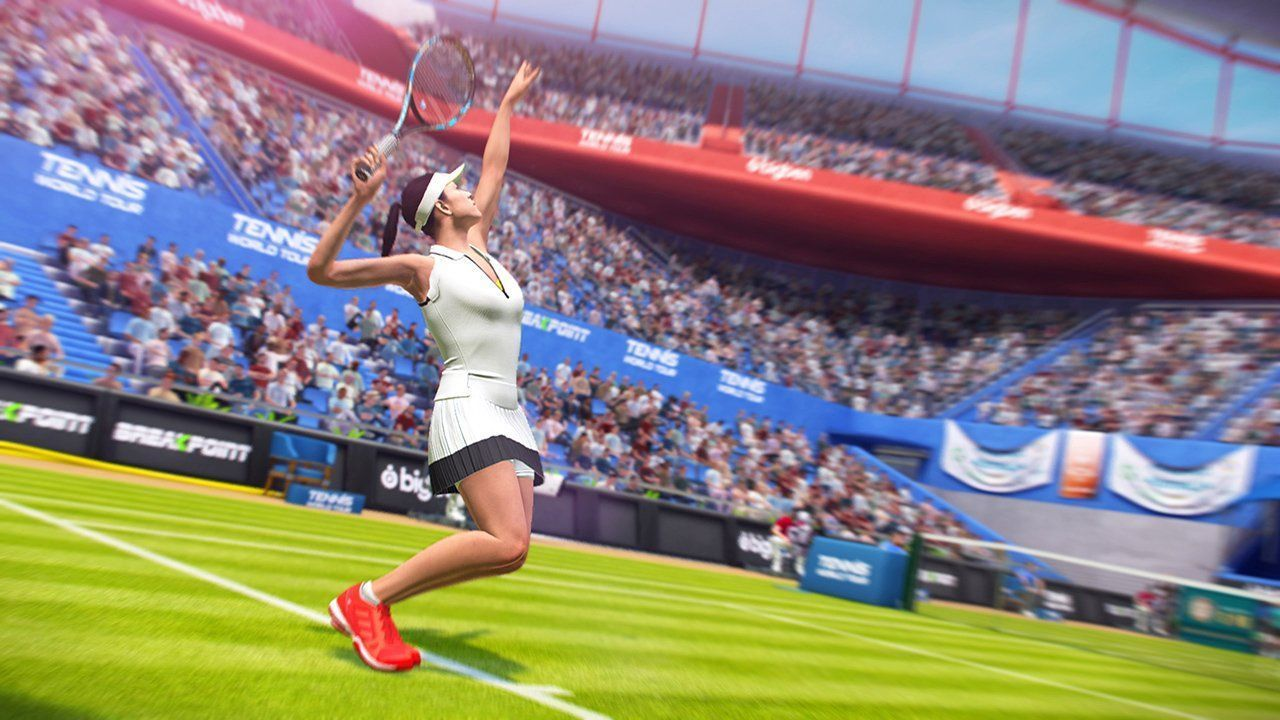 Tennis World Tour: Roland Garros Edition Русская Версия (PS4)
