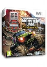 Купить игру Monster Jam: Path of Destruction (игра + руль) (Wii/WiiU) на Nintendo Wii диск