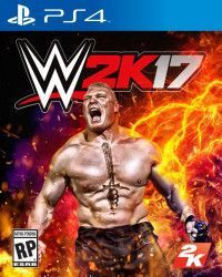 Игра WWE 2K17 (PS4) Playstation 4