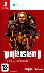 Купить игру Wolfenstein 2 (II): The New Colossus Русская Версия (Switch) диск
