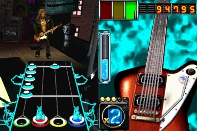 Игра Guitar Hero: On Tour (DS) для Nintendo DS