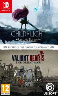 Купить игру Child of Light and Valiant Hearts The Great War Double Pack Русская версия (Switch) диск