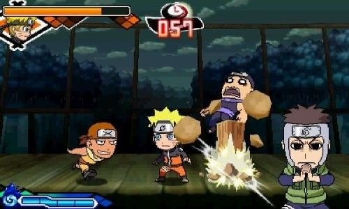 Купить игру Naruto Powerful Shippuden (Nintendo 3DS) на 3DS