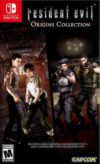Resident Evil Origins Collection (Resident Evil+ Resident Evil Zero) (Switch)