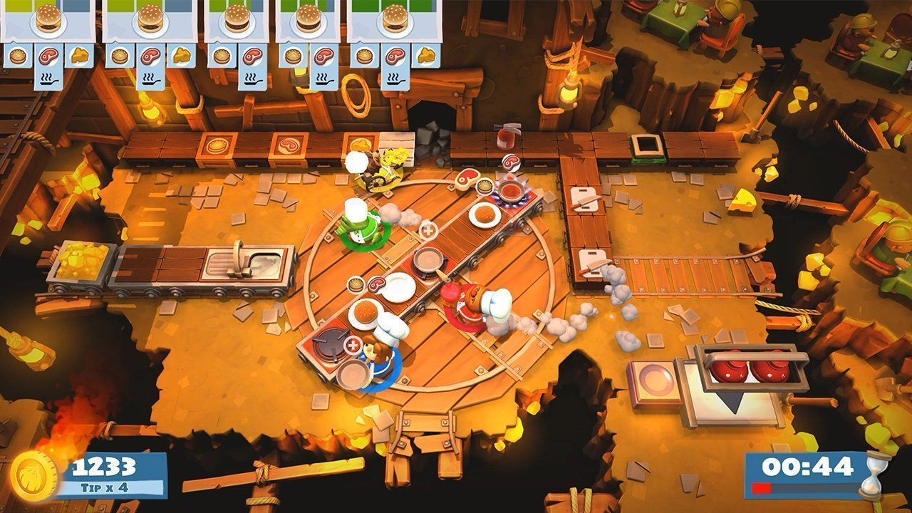 Overcooked 2 (II) (Адская кухня 2) (Switch)