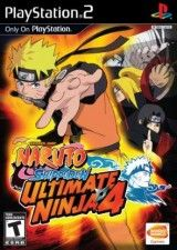 Купить Игру Naruto Shippuden: Ultimate Ninja 4 (PS2) для Sony PS2 диск