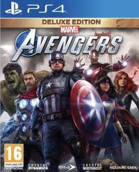 Мстители Marvel - Deluxe Edition Русская Версия (PS4)