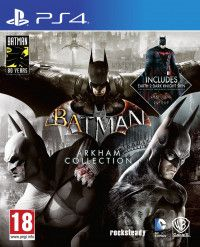 Игра Batman: Arkham Collection Русская Версия (PS4) Playstation 4