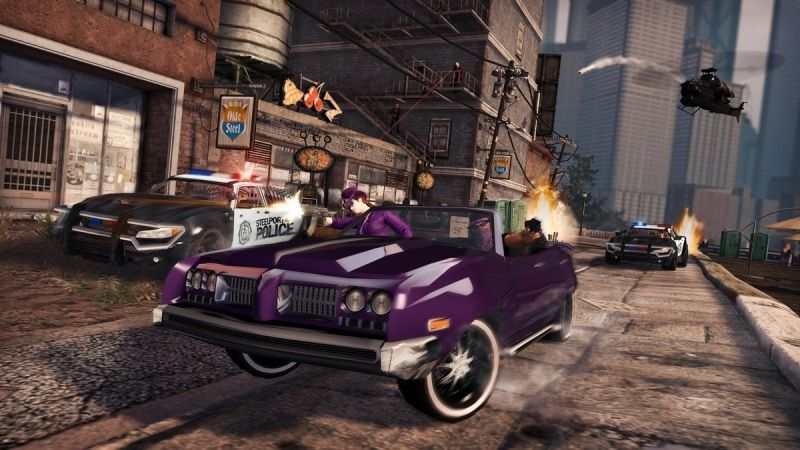 Saints Row: The Third Русская Версия (PS3)