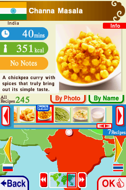 Игра Cooking Guide: Can't Decide What to Eat? (DS) для Nintendo DS