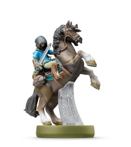 Amiibo: Интерактивная фигурка Линк-Всадник (Link Rider) (The Legend of Zelda Collection) от Nintendo Switch