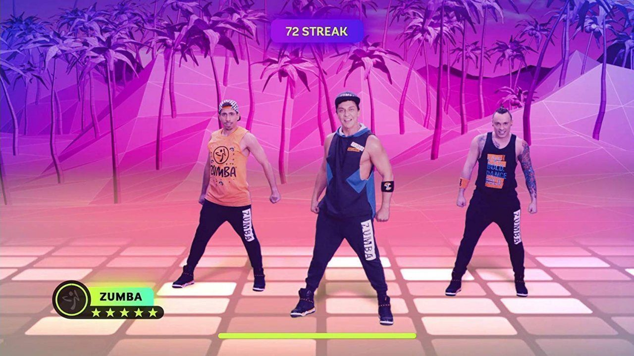 Zumba Burn it Up! Русская версия (Switch)