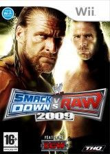 Купить игру WWE Smackdown vs. Raw 2009 (Wii/WiiU) на Nintendo Wii диск