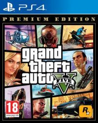 Игра GTA: Grand Theft Auto 5 (V) Premium Edition Русская версия (PS4) Playstation 4