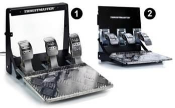 Педали Thrustmaster T3PA-PRO (THR10) (WIN/PS3/PS4/Xbox One) для PS4