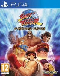 Игра Street Fighter 30th Anniversary Collection (PS4) Playstation 4