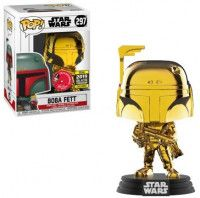 Фигурка Funko POP! Bobble: Звёздные Войны (Star Wars): Боба Фетт (Boba Fett) (Hamleys Exclusive GC 37641) 9,5 см