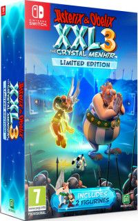 Asterix and Obelix XXL 3 The Crystal Menhir - Limited Edition Русская Версия (Switch)