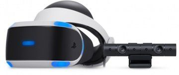 Sony PlayStation VR V2 Eur шлем виртуальной реальности + Камера Sony PlayStation Camera V2 + игра VR World (PS4)