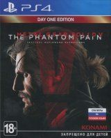 Metal Gear Solid 5 (V): The Phantom Pain (Фантомная боль) Day One Edition Русская Версия (PS4)