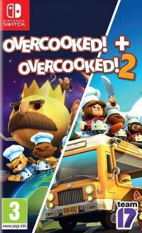 Overcooked! + Overcooked! 2 (Адская кухня 1+2) (Switch)