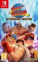 Купить игру Street Fighter 30th Anniversary Collection (Switch) диск