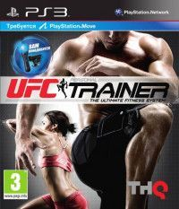 UFC Personal Trainer: The Ultimate Fitness System для PlayStation Move + Ремешок на ногу (PS3)