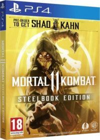 Купить Игру Mortal Kombat 11 (XI) Steelbook Edition Русская версия (PS4) на Playstation 4 диск