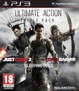 Игра Ultimate Action Triple Pack (Just Cause 2, Sleeping Dogs, Tomb Raider) (PS3) для Sony PlayStation 3