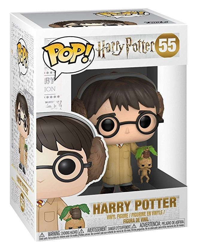 Фигурка Funko POP! Vinyl: Гарри Поттер (Harry Potter) Серия 5 (S5) Гарри Поттер Травология (Harry Potter (Herbology)) (29496) 9,5 см