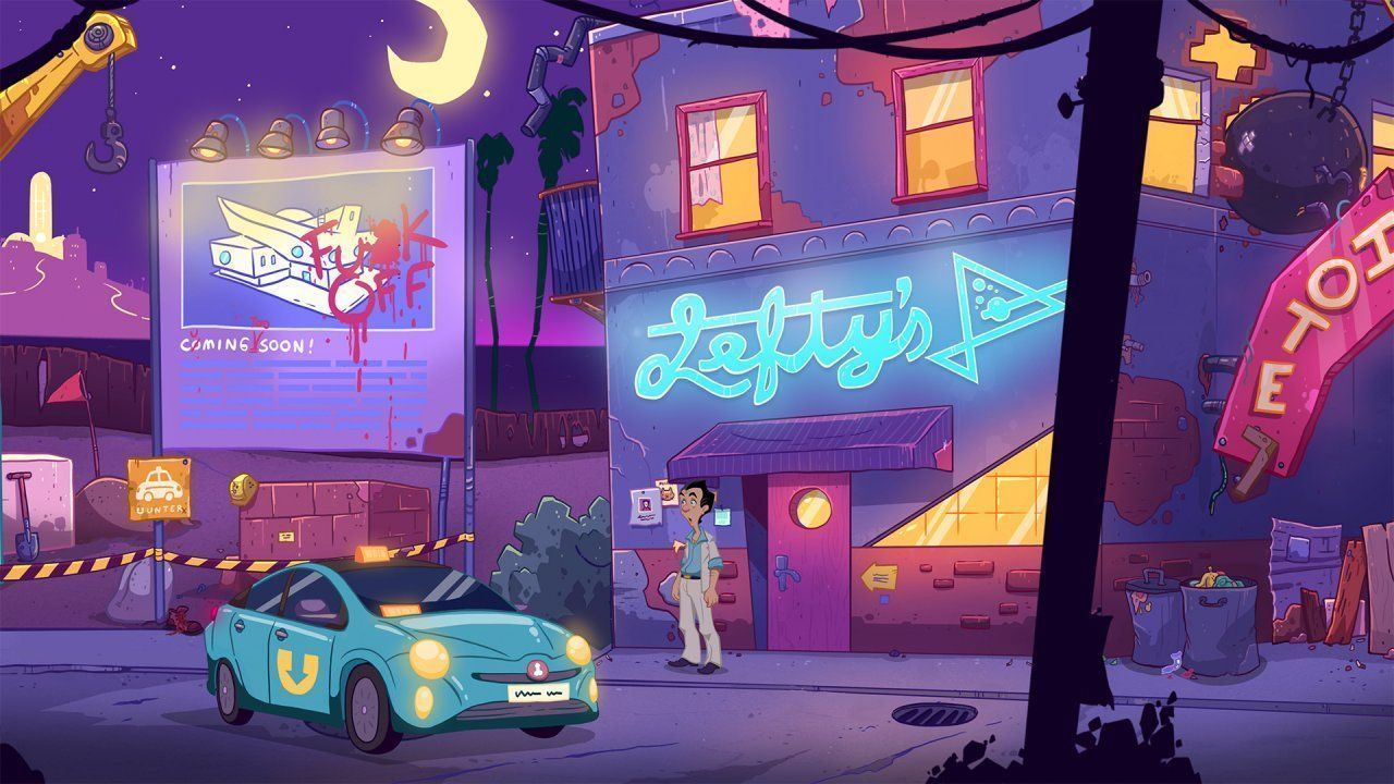 Leisure Suit Larry: Wet Dreams Don't Dry (PS4)