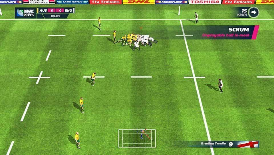 Rugby World Cup 15 (PS3)