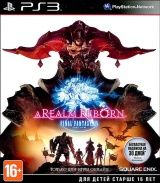 Купить игру Final Fantasy XIV (14): A Realm Reborn (PS3) USED Б/У для Sony Playstation 3