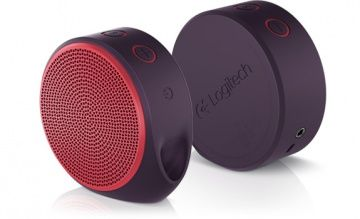 Портативная колонка Logitech X100 Mobile Wireless Speaker Красная 3DS/PS Vita/PSP/PC (PC)