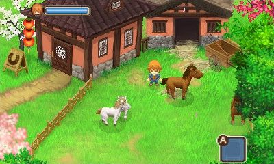 Купить игру Harvest Moon: The Tale of Two Towns 3D (Nintendo 3DS) на 3DS