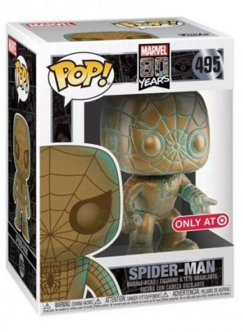 Фигурка Funko POP! Bobble: Человек-паук (Spider-Man) Марвел 80 лет (Marvel 80th) (PT)(Exc) (42212) 9,5 см