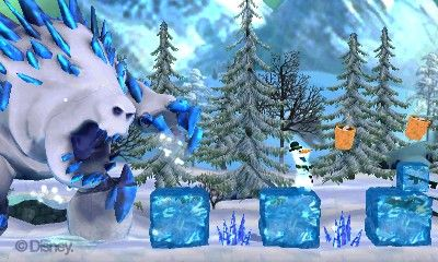 Купить игру Disney Frozen: Olaf's Quest (Nintendo 3DS) на 3DS