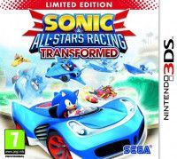Купить игру Sonic and All-Stars Racing Transformed Ограниченное издание (Limited Edition) (Nintendo 3DS) на 3DS