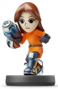 Купить Amiibo: Интерактивная фигурка Mii-стрелок (Mii Gunner) (Super Smash Bros. Collection) от Nintendo