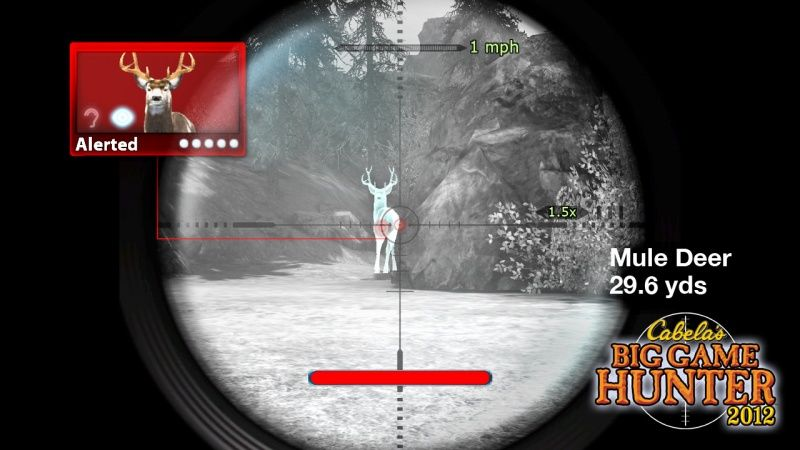 Купить игру Cabela's Big Game Hunter 2012 + Ружьё Top Shot Elite (Wii/WiiU) на Nintendo Wii диск