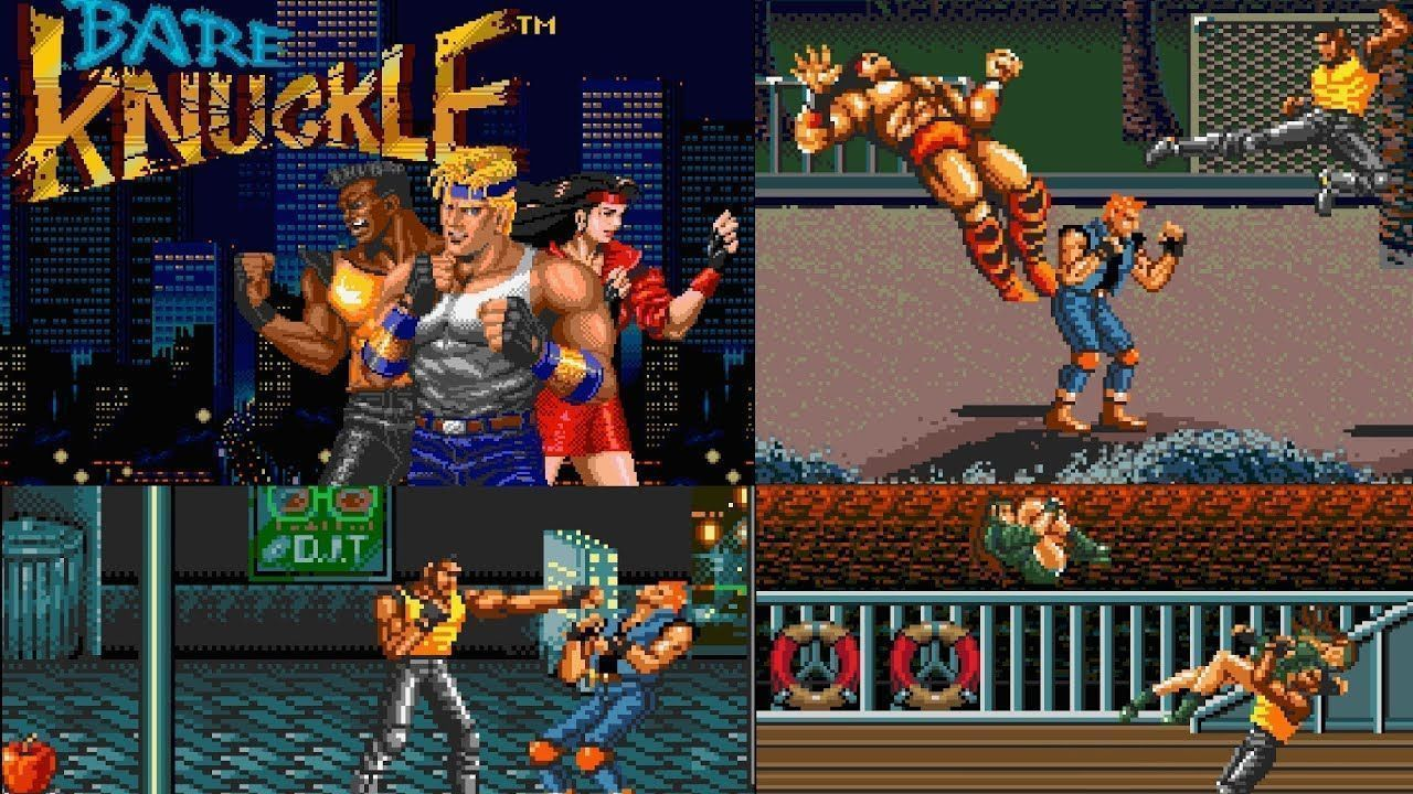 Сборник игр 8 в 1 BVAG-22 CHASE HQ 2 / JAMES BOUND / BARE KNUCKLE (16 bit)