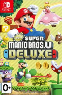 Купить игру New Super Mario Bros U Deluxe Русская Версия (Swtich) диск