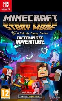 Minecraft: Story Mode Complete Adventure (эпизоды 1-8) (Switch)