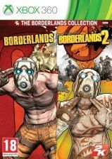 Купить Игру Borderlands Collection (Borderlands + Borderlands 2) (Xbox 360/Xbox One) на Microsoft Xbox 360 диск