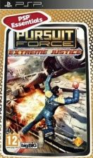 Игра Pursuit Force Extreme Justice Essentials (PSP) для Sony PSP